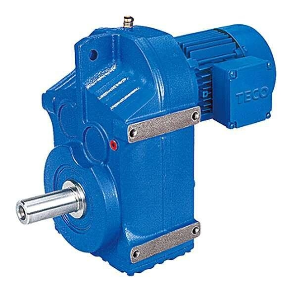 China BF series parallel shaft helical gear reducer motor