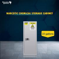 Buy cheap TOXIC CHEMICAL STORAGE CABINET 22GAL from wholesalers