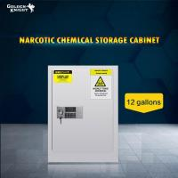 Buy cheap TOXIC CHEMICAL STORAGE CABINET 12Gal from wholesalers