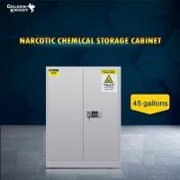 Buy cheap TOXIC CHEMICAL STORAGE CABINET 45Gal from wholesalers