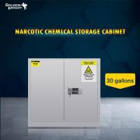 Buy cheap TOXIC CHEMICAL STORAGE CABINET 30GAL from wholesalers