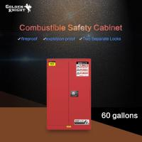 Buy cheap Combustible Safety Cabinet 60Gal from wholesalers