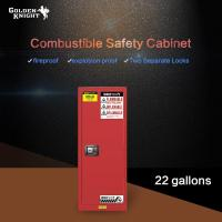 Buy cheap Combustible Safety Cabinet 22Gal from wholesalers