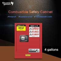 Buy cheap Combustible Safety Cabinet 4Gal from wholesalers