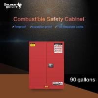 Buy cheap Combustible Safety Cabinet 90Gal from wholesalers