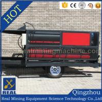 Buy cheap High Capacity mobile gold washing plant(belt type) from wholesalers