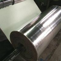 China Aluminum Foil Coated Fiberglass Heat Insulation Fabric on sale