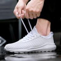 China fashion design woven elastic men casual walk shoes online,stylish woven men leisure shoes on sale