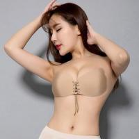 China wedding underwear gel silicone strapless push up bra for ladies girl on sale