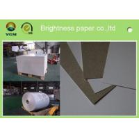 China 230g - 450gsm Grey Back Duplex Paper Board In Roll And Sheet SGS Certified on sale
