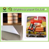 Quality Lightweight Coated One Side Paper , Carrier Board Paper 400gsm / 450gms wholesale