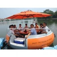 Quality Barbecue donut boat for 12 person for leisure wholesale