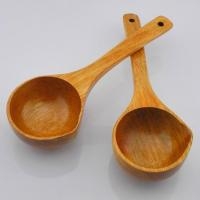 Buy cheap Long Handle Bamboo Soup Spoon Bamboo Wooden Spoon for Soup from wholesalers