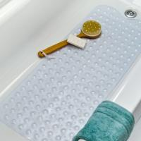 China Extra Long Vinyl Non Slip Shower Bath Tub Mat Clear on sale