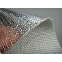 Quality AL2025 Aluminum Foil Laminated Fiberglass Insulation Fabrics wholesale