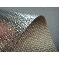 Quality ALHT2025 Aluminum Foil Laminated Caramelized Fiberglass Insulation Fabrics wholesale