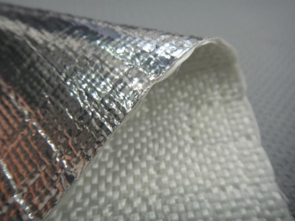 Cheap ALFW600 Aluminum Foil Laminated Fiberglass Insulation Fabrics for sale
