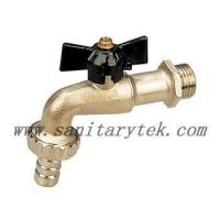 Quality Code: V26-002 Ball bibcock with hose connection, black T handle wholesale
