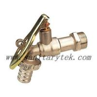 Buy cheap Code: V26-006 Ball hose bibcock with lockpad eye,steel handle from wholesalers