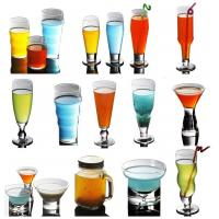 Cheap Handmade Glassware Manufacturer logo printed as your request for sale