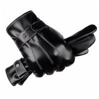 Quality Mens Leather Winter Super Driving Warm Gloves wholesale