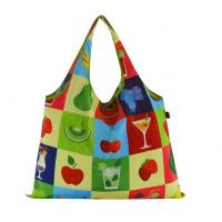 Quality Waterproof polyester printed foldable shopping bags wholesale