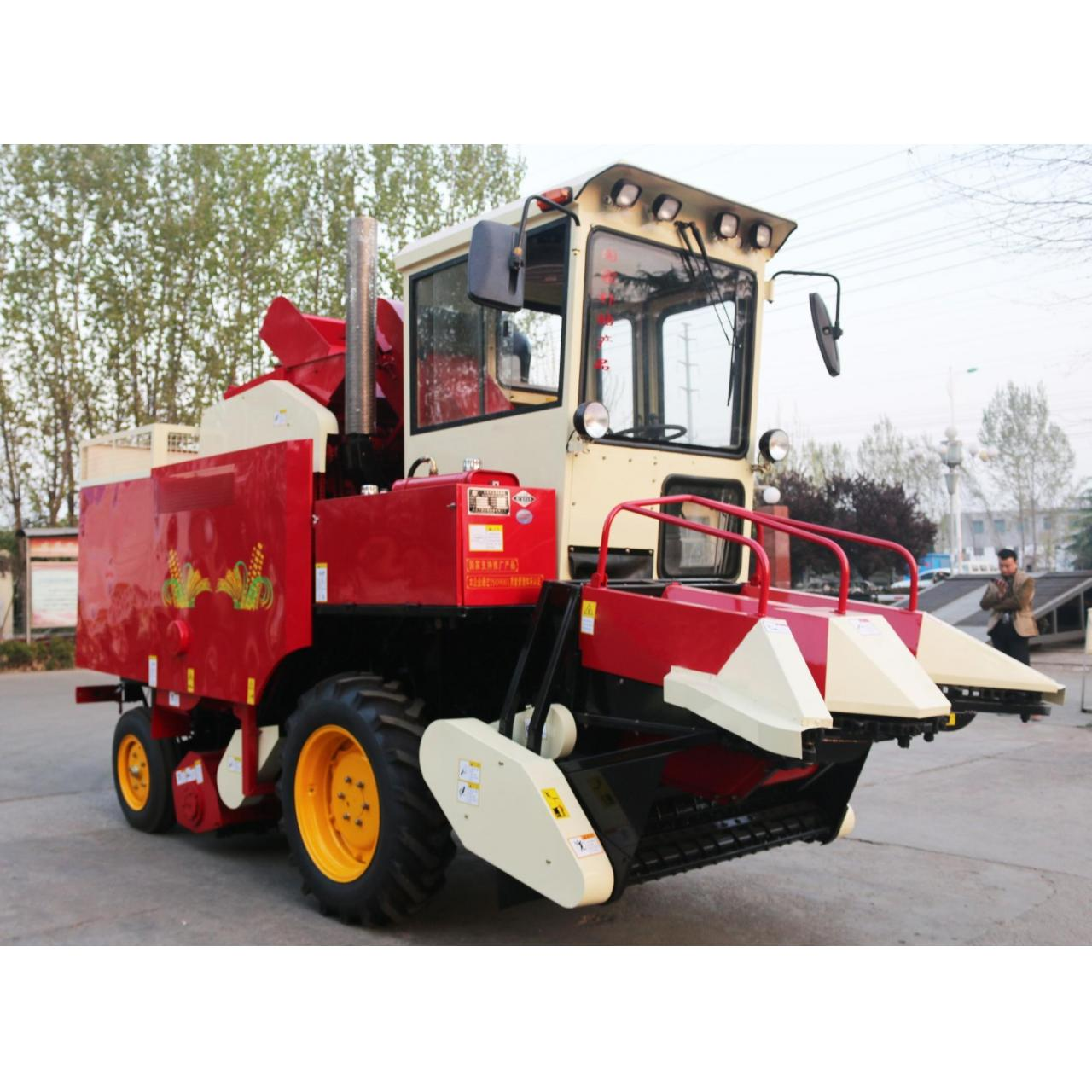 Quality Direct supply small rice grain combine harvester for sale wholesale