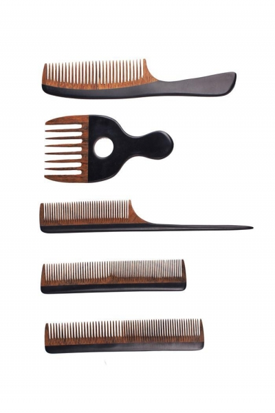 China Long Tail Conair Teasing Hairdresser Disposable Combs Straight Wooden Comb