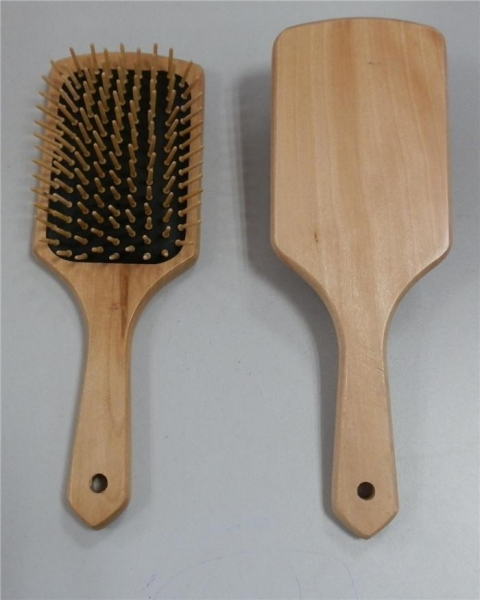China Good Wooden Round Hair Brush for Teasing Baby Hair