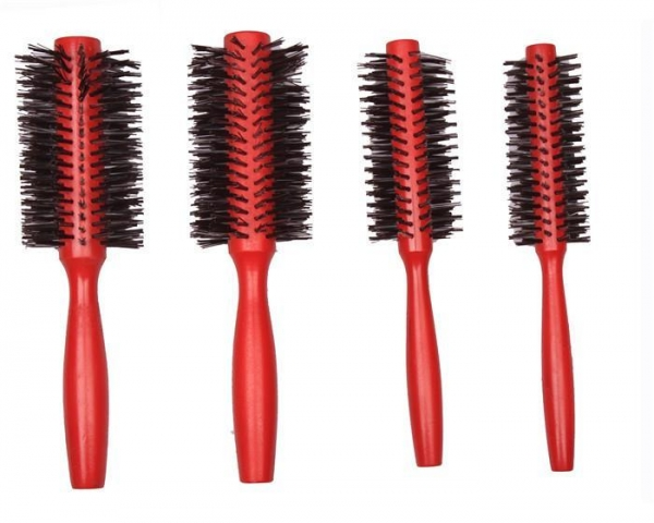 China Best Natural Eurotech Wooden Hair Brush for Curly Coarse Hair