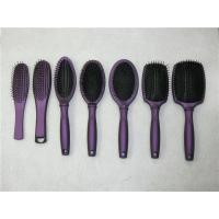 Quality Color Plastic Wire Hair Brush Salon Styling Bristles Makeup Tool Hair Comb wholesale
