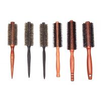 Quality Nice Round Barrel Hair Brush Automatic Tension Thin Long Hair wholesale