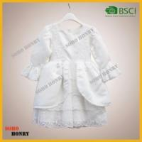 Quality High Quality Girls Prom Dress with long sleeve for 2-12 years old girls wholesale