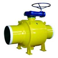 China Forge Fully Welded Trunnion Ball Valve on sale