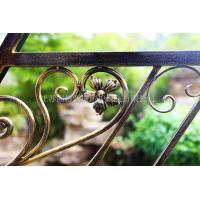 Quality Custom class forged iron products RJF staircase handrail wholesale