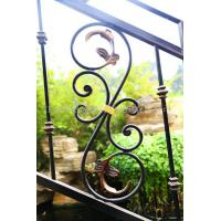 Quality Custom class forged iron products Continental staircase handrail wholesale