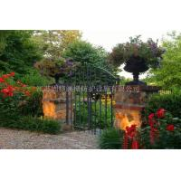 Quality Custom class forged iron products Wrought iron gates wholesale