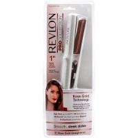 Quality Revlon ProColection 1 Rose Gold Plated Straightener, White - RVST2132C wholesale