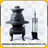 Quality Long Time Burning High Efficient Smokeless Square Cast Iron Stove wholesale