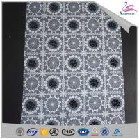 Quality Hot Sale Floral Tulle Embroidery Lace Designs Garment Fabric wholesale