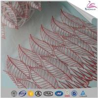 Popular Elegant 100% Organza Voile Embroidery Lace Fabric for Sale