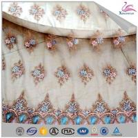 Quality Fancy Sequin Embroidery Lace Fabric for Party wholesale