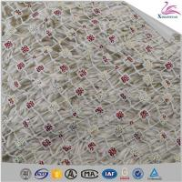 Quality Newest Bead Embroidery Net Lace for Wedding Dress wholesale