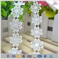 Quality Garment Accessory Chemical Lace Trim Fabric for Women Dress wholesale