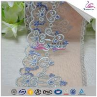 Quality High Quality Colorful Bridal Cotton Eyelet Lace Trim for Garment wholesale