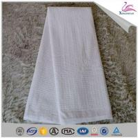 Quality Latest Flower Pattern Soft 100% Cotton Material Chemical Embroidery Lace Garment Fabric wholesale