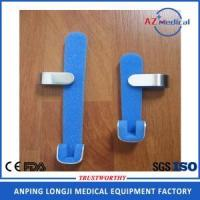 Quality disposable foam padded silver and blue finger splint wholesale