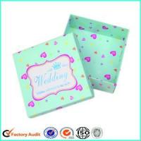 Cheap Cardboard Candy Box For Wedding Favors for sale