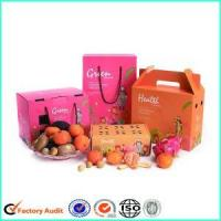 Cheap Packaging Fresh Fruit Cardboard Cartons Boxes for sale