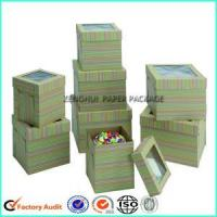 Quality Customized Cake Packaging Box With Lift Off Lid wholesale
